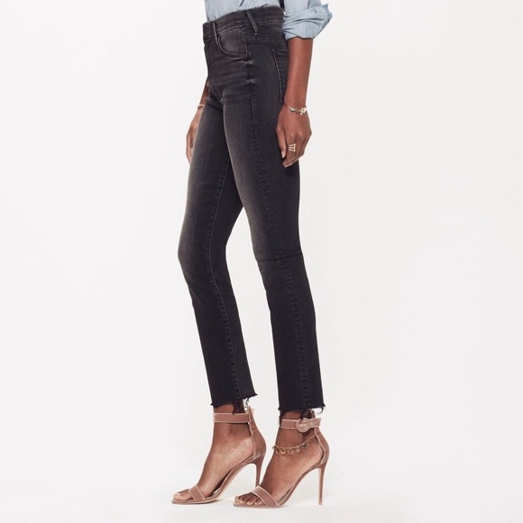 MOTHER Pants - MOTHER High Waisted Looker Ankle Fray